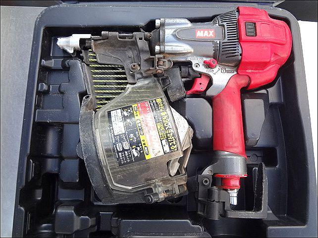 MAX 木下地専用41mm高圧ビス打機 HV-R41G3