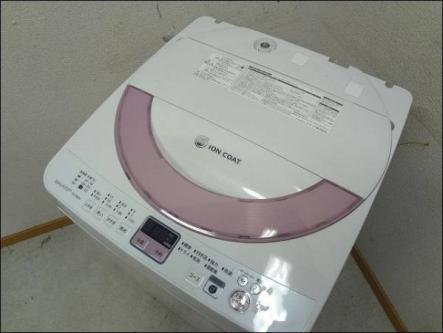 '13年製 シャープ 6.0Kg 全自動洗濯機
