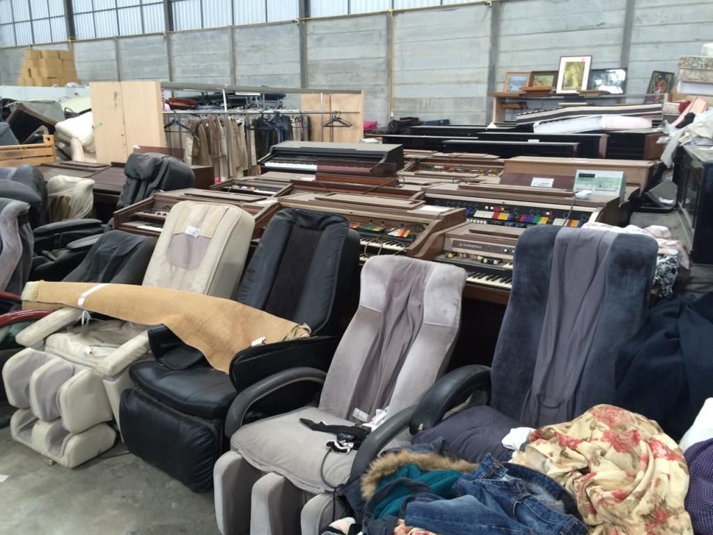 タイの日本からの楽器、電化製品などのリサイクル品