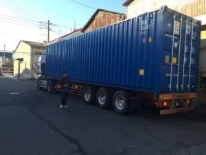買取・回収した不用品をタイへ輸出