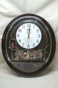 SEIKO(セイコー) ウェーブシンフォニー からくり電波時計 RE551B