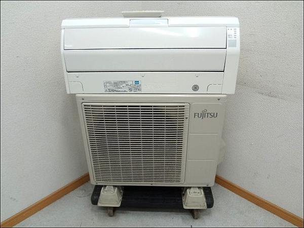 11年製 富士通 お掃除エアコン 6畳用 AS-R22A-W