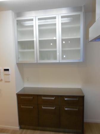 モデルル-ム展示品 食器棚 買取