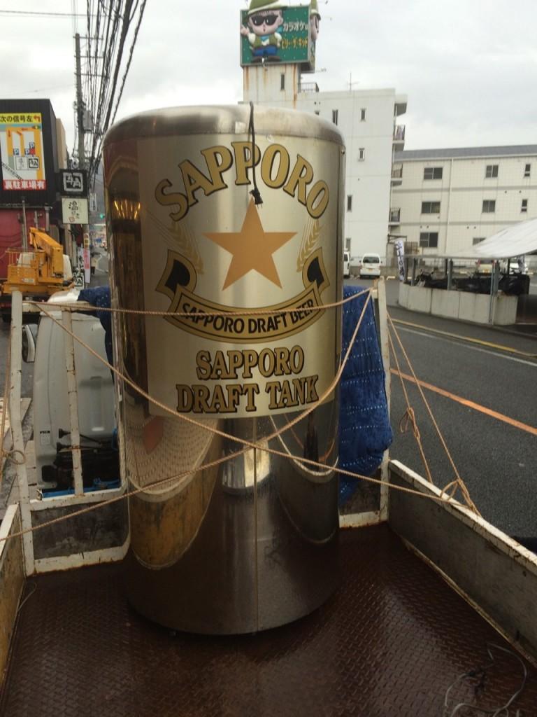 サッポロ ビールサーバ