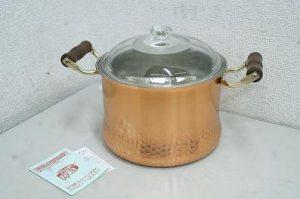 自宅保管品! 銅製品 両手 煮込み鍋 22cm★買取いたしました!